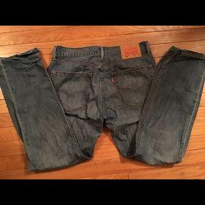 Levi Strauss & Co 31/30 lightweight Men jeans 505